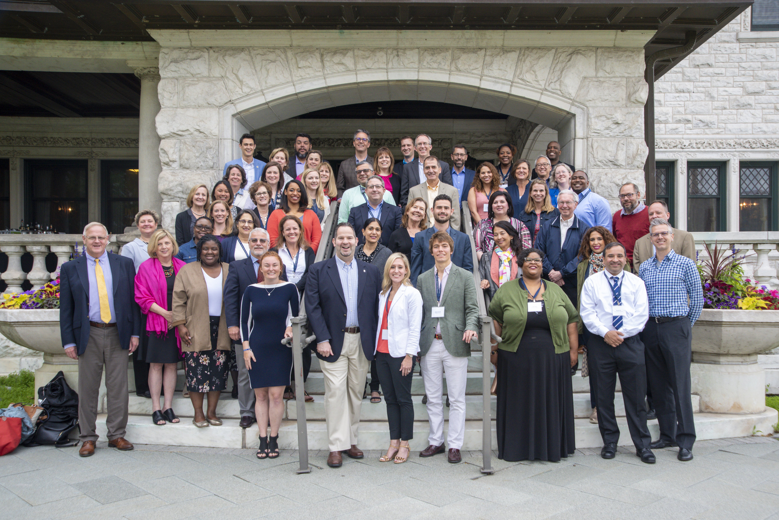2019 Jesuit Leadership Seminar Participants (Photo by Glenn Kaupert Photography)