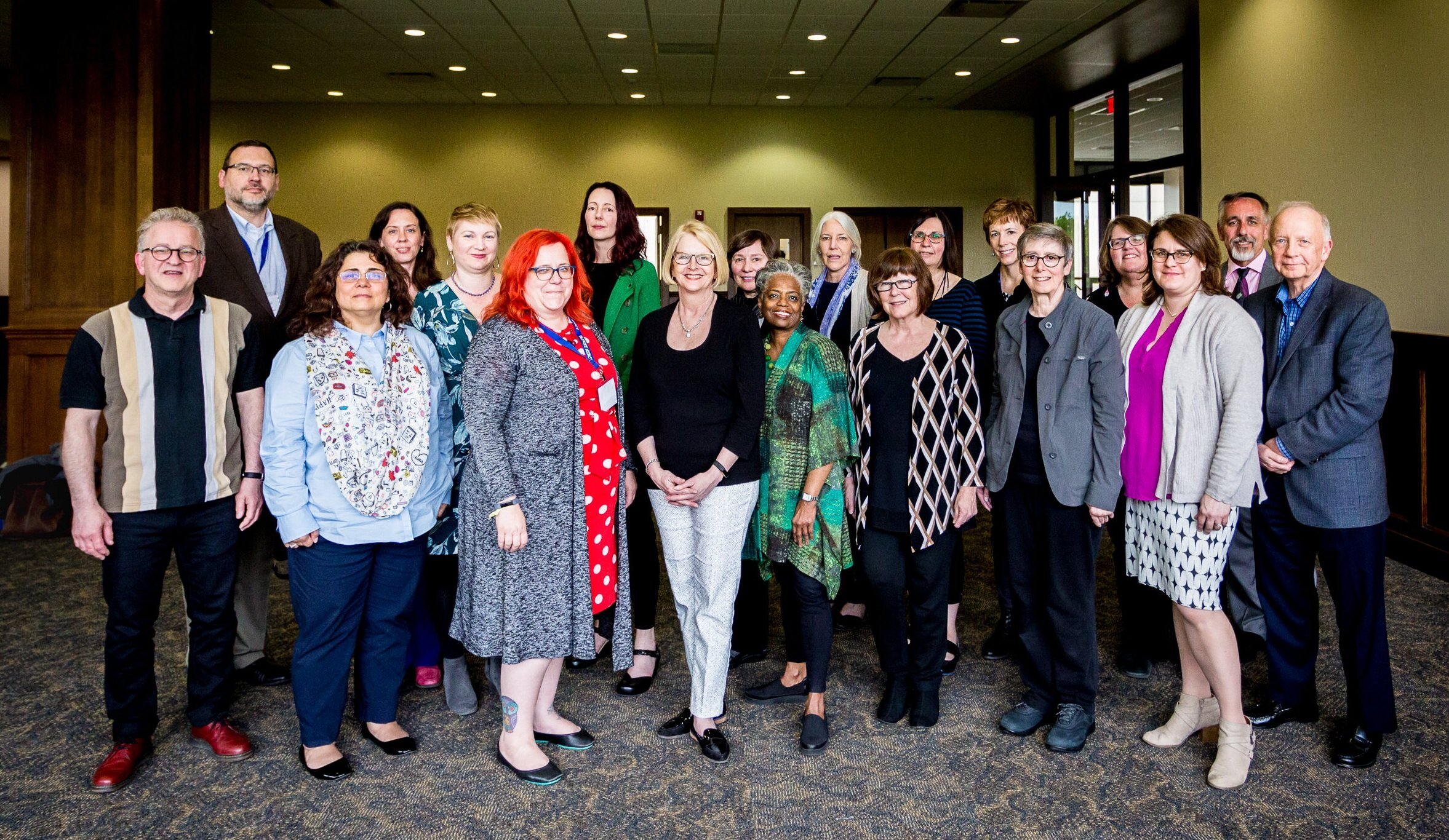 Members of the AJCU Library Deans Conference met at the University of Detroit Mercy in May 2019.