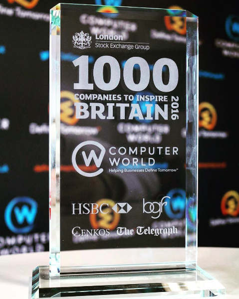ComputerWorld is one of the  Top 1000 Companies To Inspire Britain 2016 .