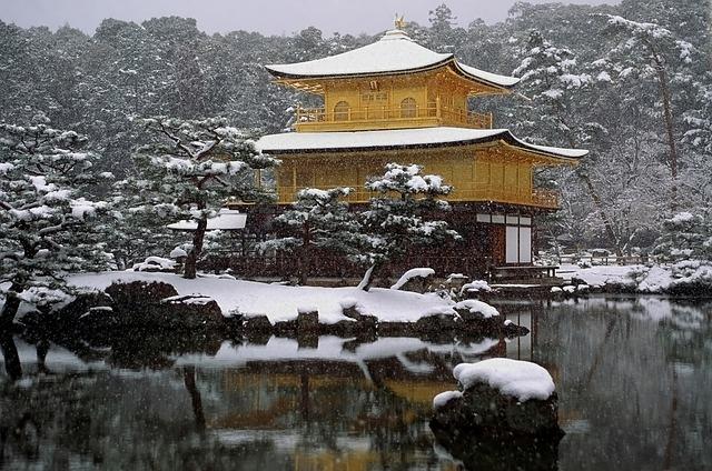kinkakuji/golden pavillion