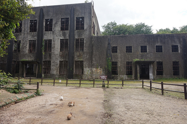 Abandoned Building in Okunoshima photo by: flickr@Addy Cameron-Huff