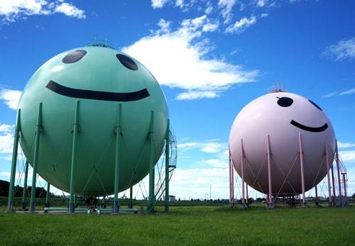 Shibata Gas Tanks