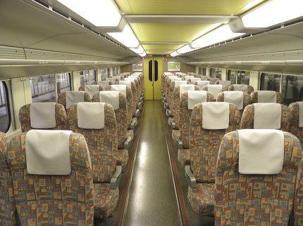 Joetsu Shinkansen Seat