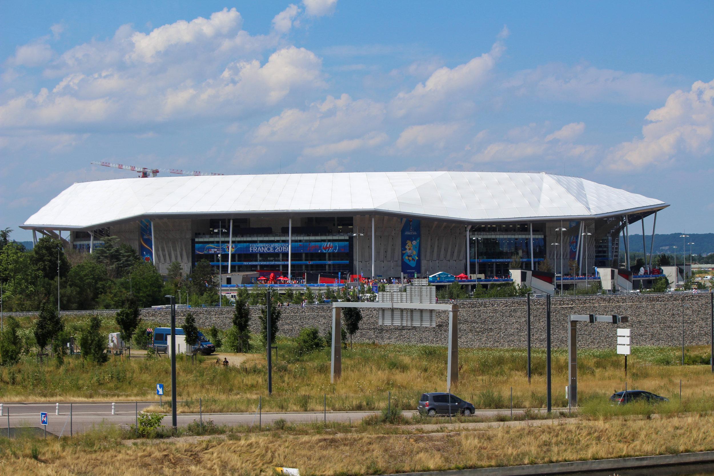 Parque Olympique Lyonnais