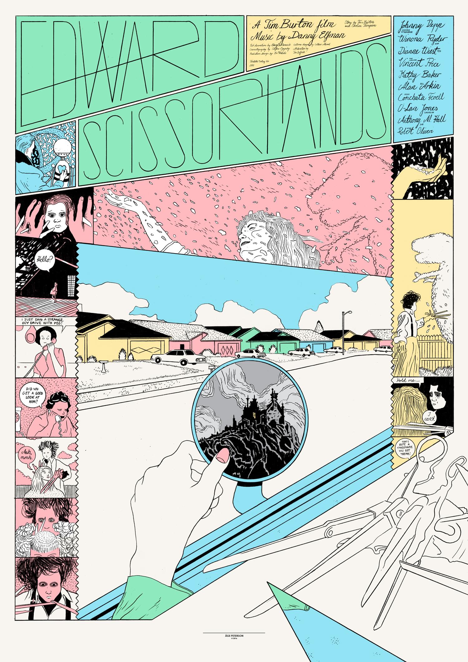 Edward Scissorhands  (1990), directed by Tim Burton