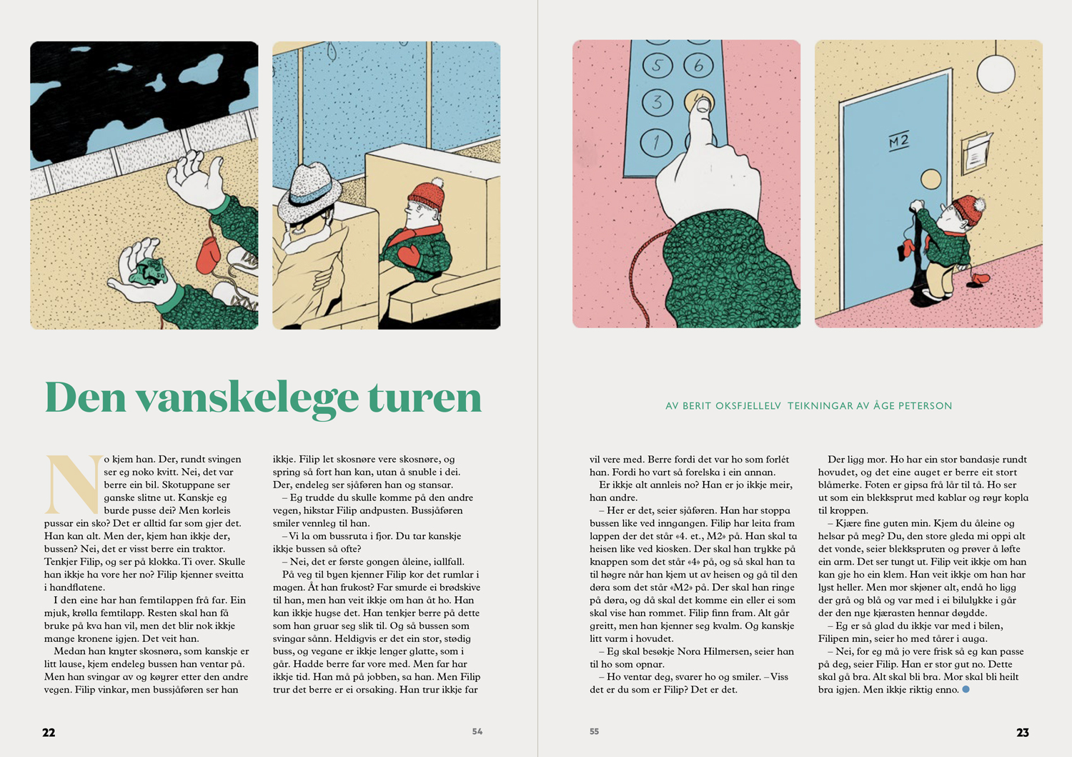 Layout and design by Aina Griffin and Susanne Brochmann.