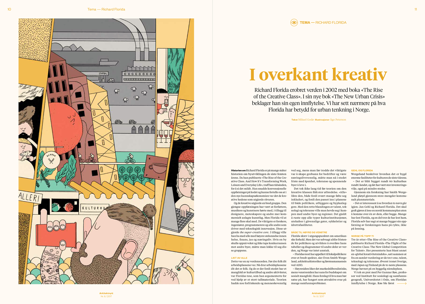 Cover and opening spread. Design by   Bielke&Yang    and editorial design for this issue, by Erland Banggren.
