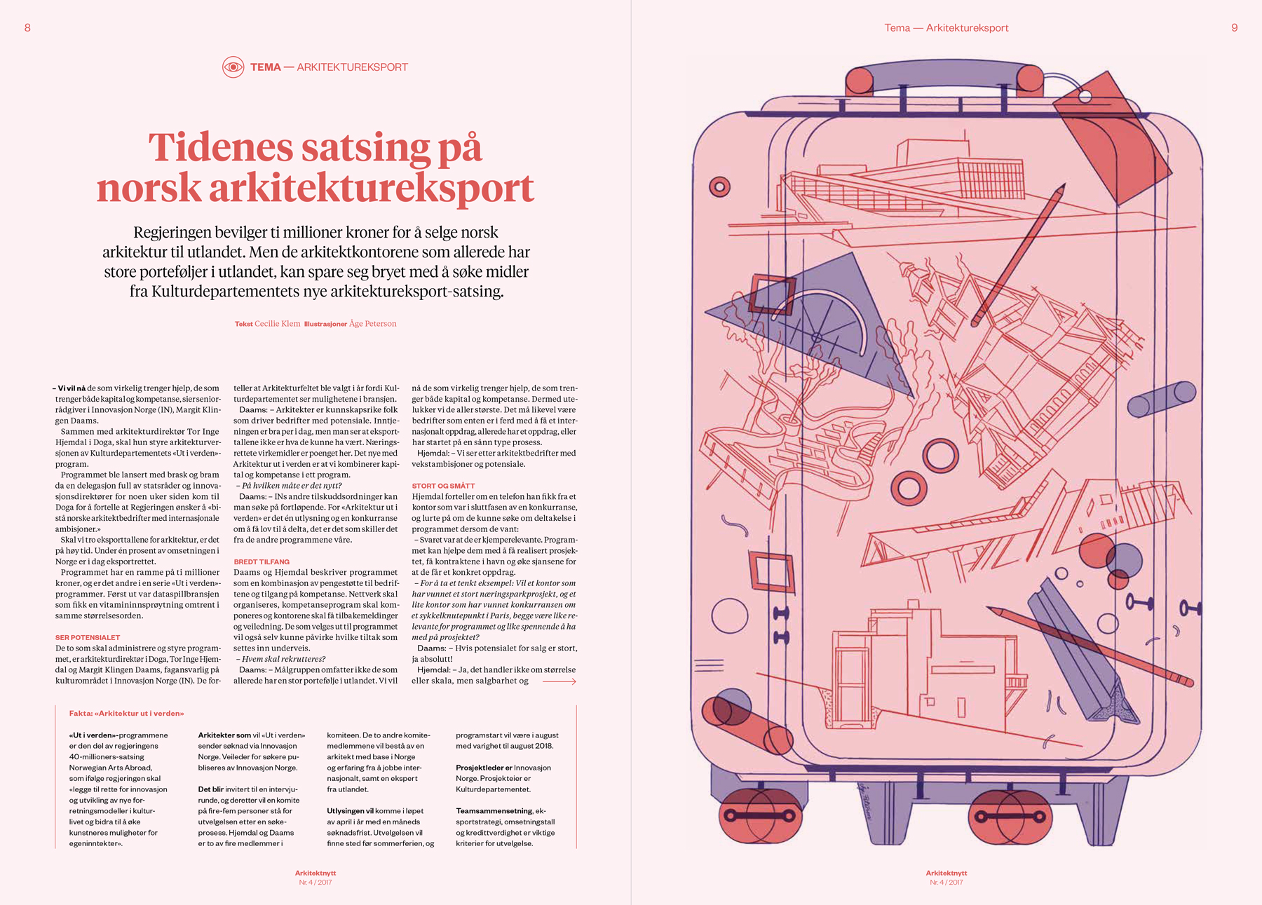 Cover and opening spread. Editorial design by   Bielke&Yang  .