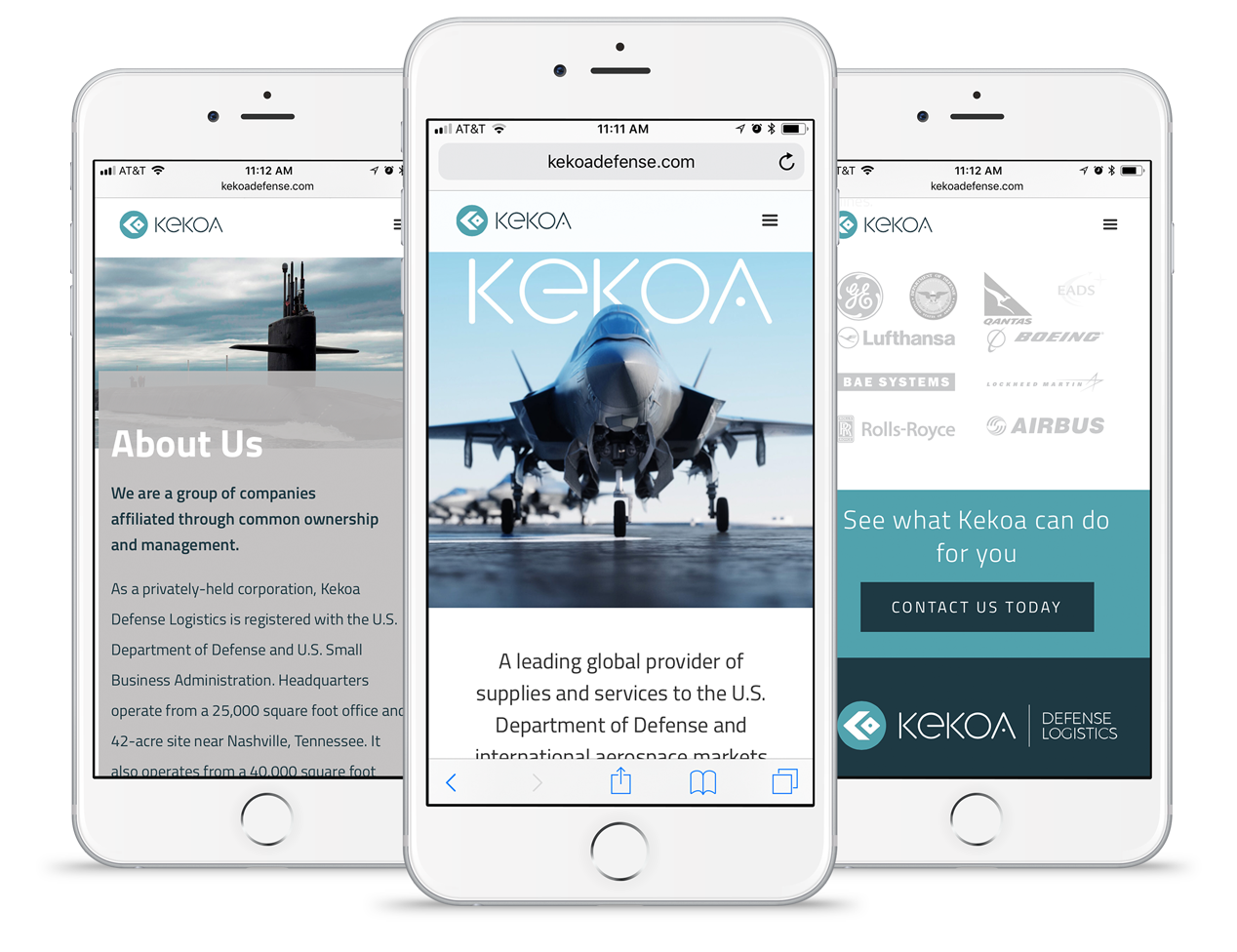 Although many studies and supporting data show that mobile is the leading platform for websites, it was important for us to focus on mobile and desktop equally as Kekoa's target audience operates in both environments.