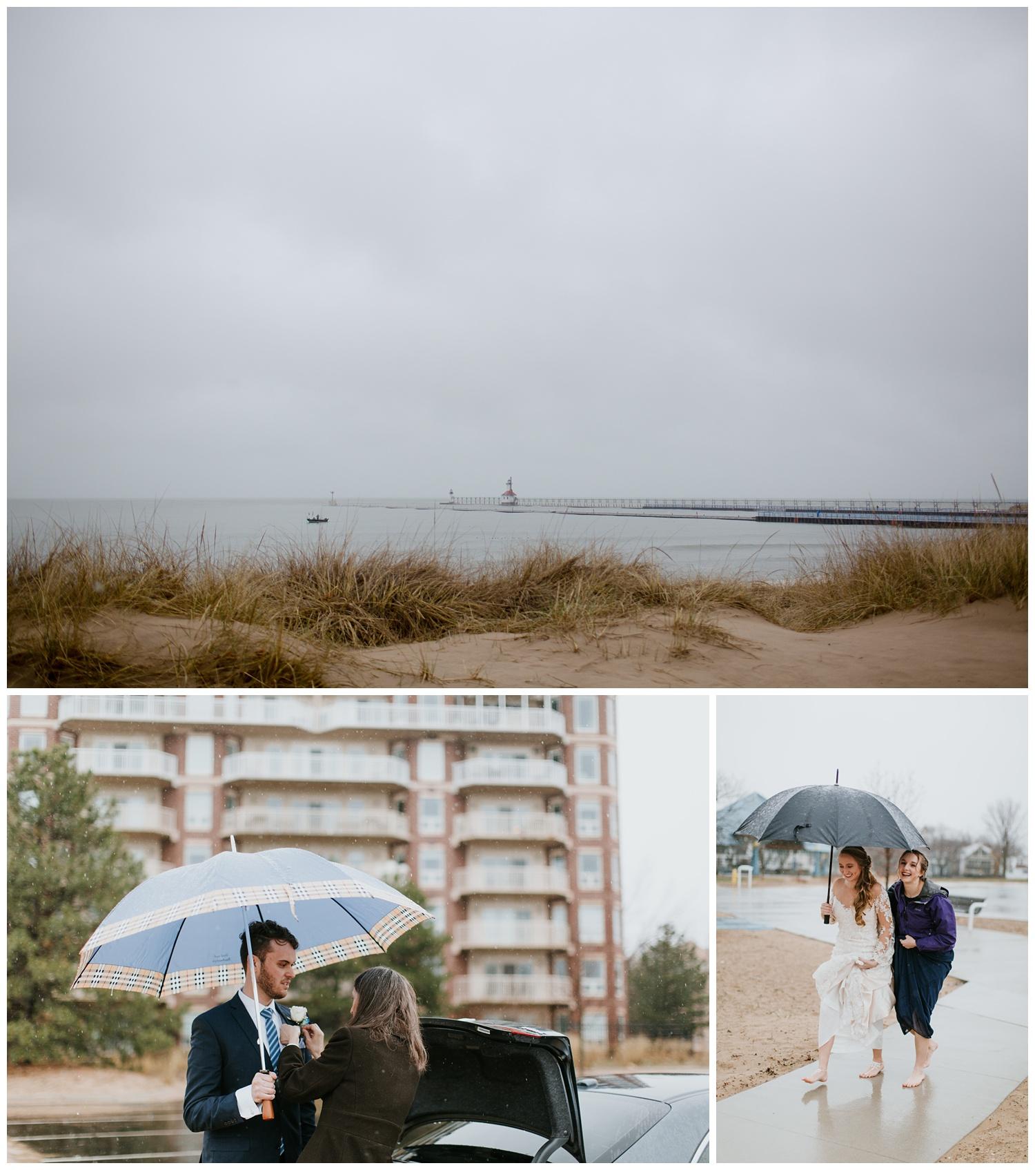 Shadowland Silver Beach St. Joseph Wedding Photographer Rainy Wedding1.jpg
