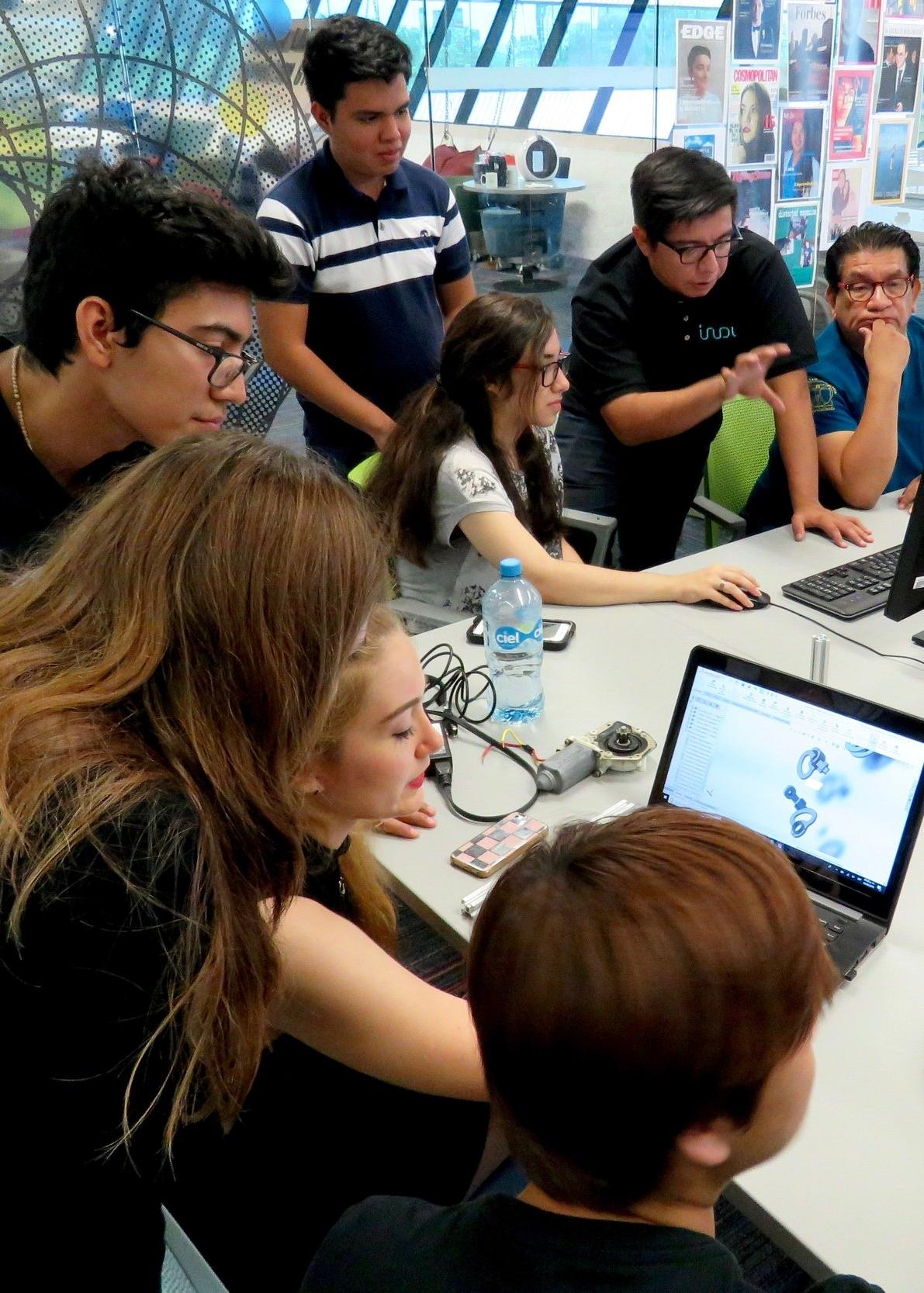 Students Building ALICE @ Tec de MTY