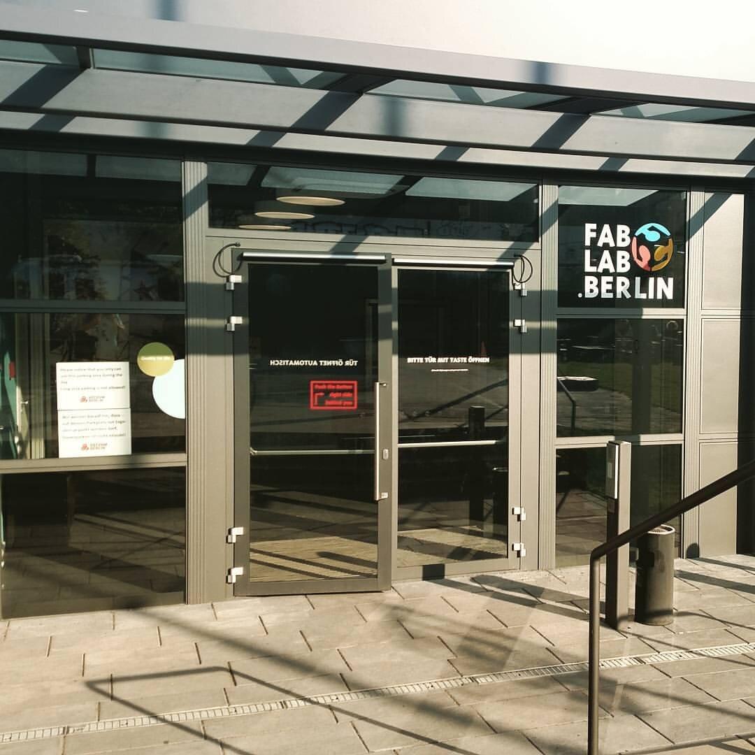 FabLab Berlin by Jesús Tamez-Duque. 2016