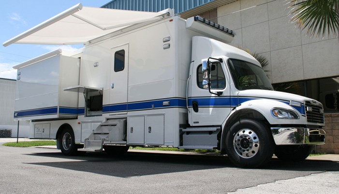 Mobile Autopsy Vehicle