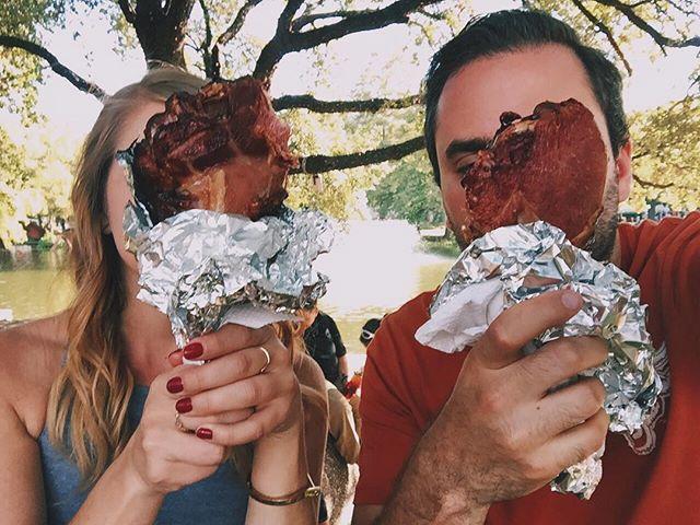 Texas-sized turkey legs only. 🍗🤘🏻