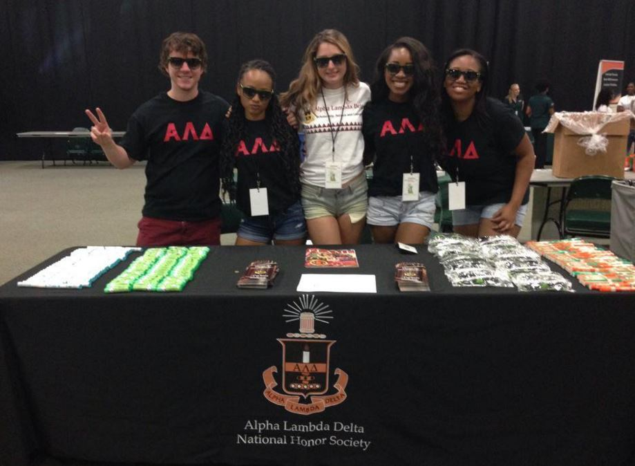 ald information table at canefest at the university of miami