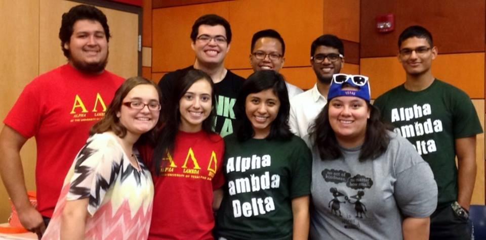 alpha lambda delta members at the university of texas rio grande valley