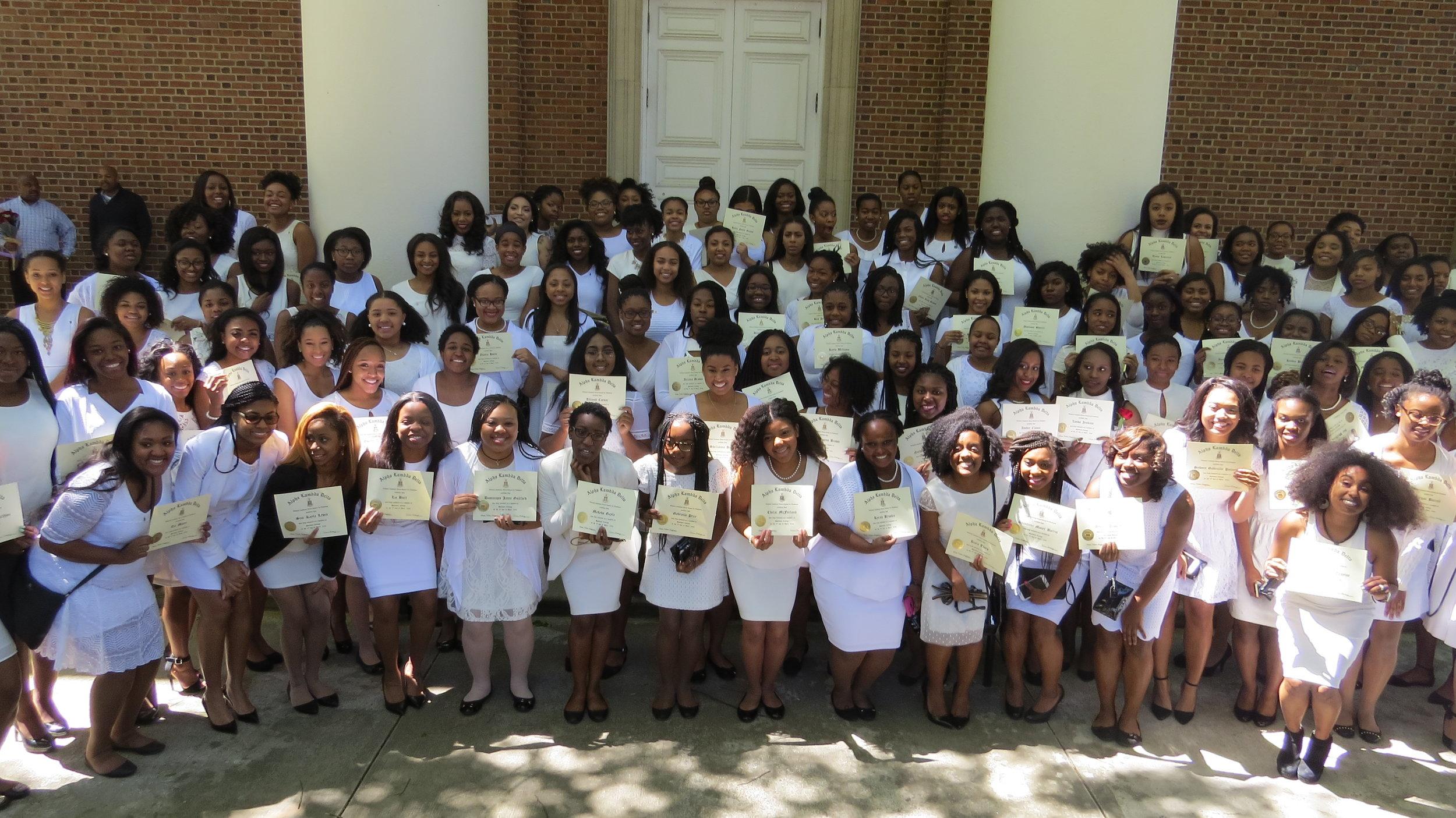 spelman college's 2016 induction ceremony