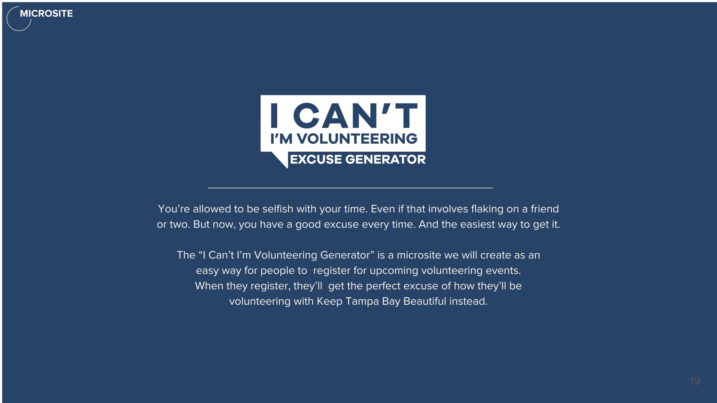I can't I'm Volunteering excuse generator.jpg