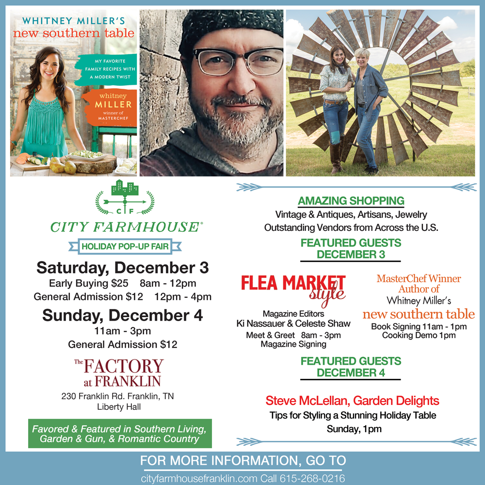 City Farmhouse Pop-up Fair