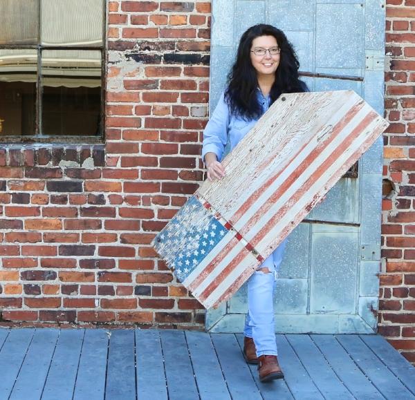 Kim Leggett at City Farmhouse