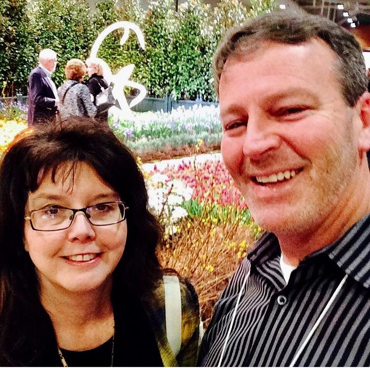 Kim and David Leggett at the Antiques and Garden Show Nashville 2016 | City Farmhouse