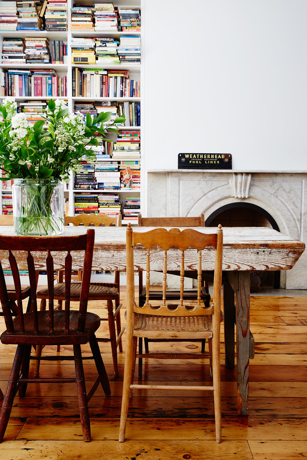 Modern Farmhouse Style in the heart of Brooklyn, NY  |  City Farmhouse Style  Home of Odette Williams + Nick Law, New York Interior Design: Odette Williams  |  Architect:  Lorraine Bonaventura Architect   |  Photography: Nicole Franzen