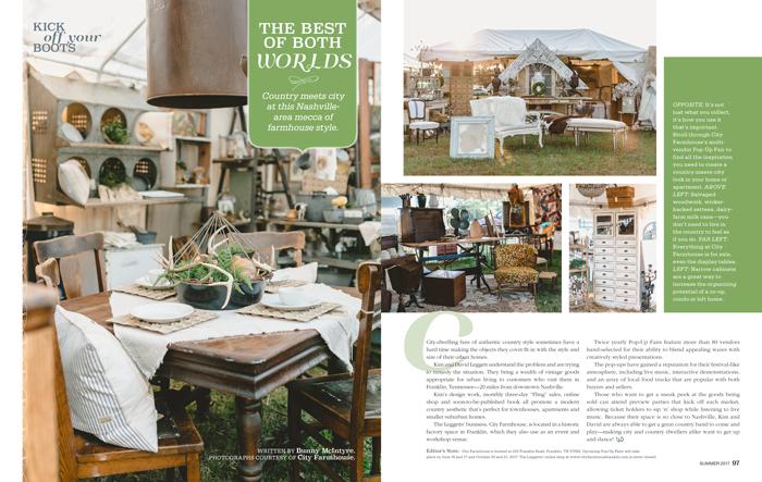City Farmhouse | Prairie Style | Franklin TN