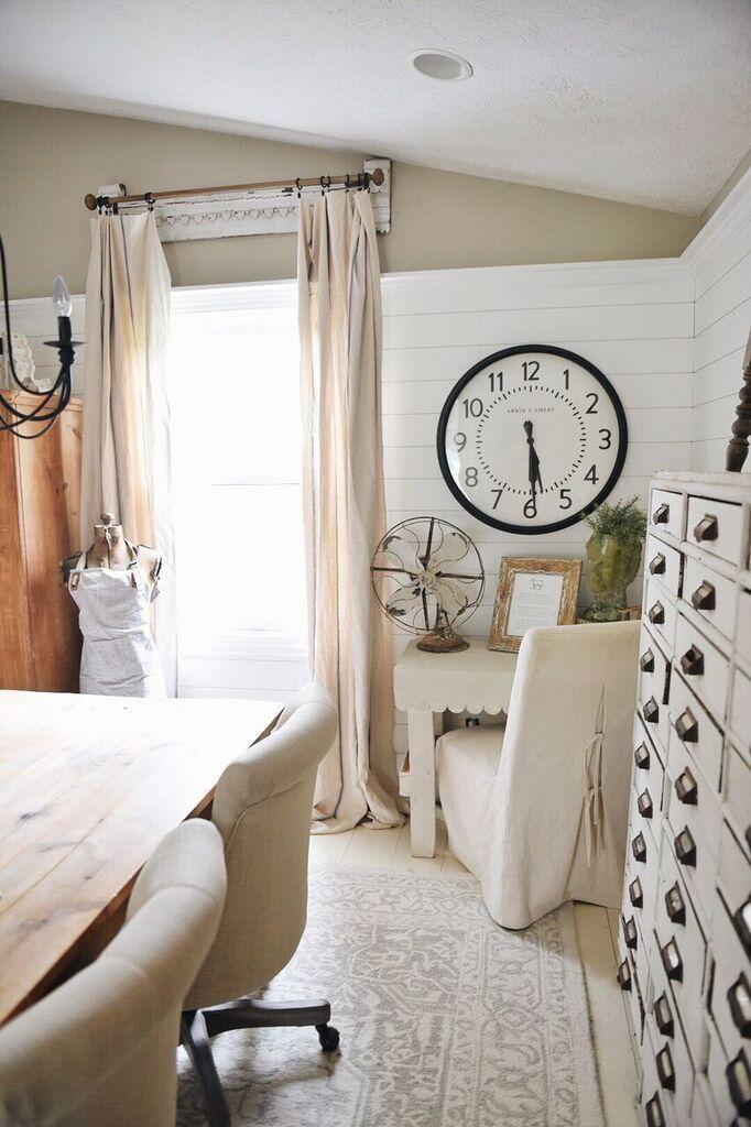 Vintage clock on the Liz Marie Blog