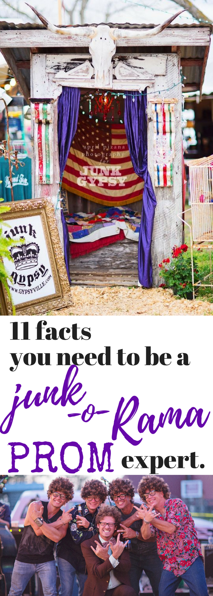 11 facts you need to be a junk-o-rama prom expert