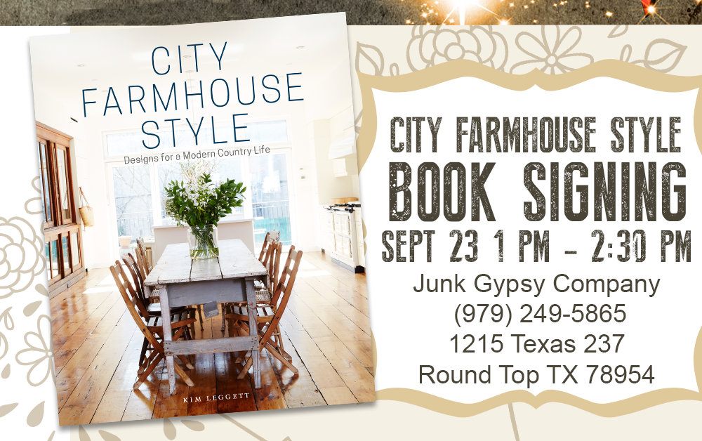 City Farmhouse Book Signing
