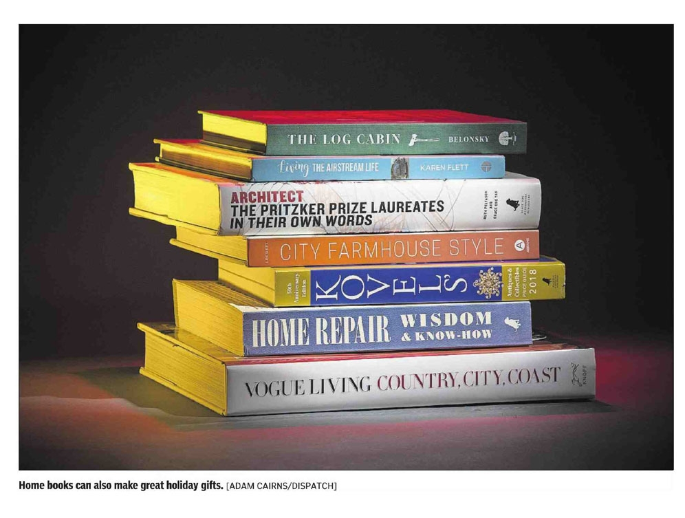 Columbus Dispatch Article - Stack of books