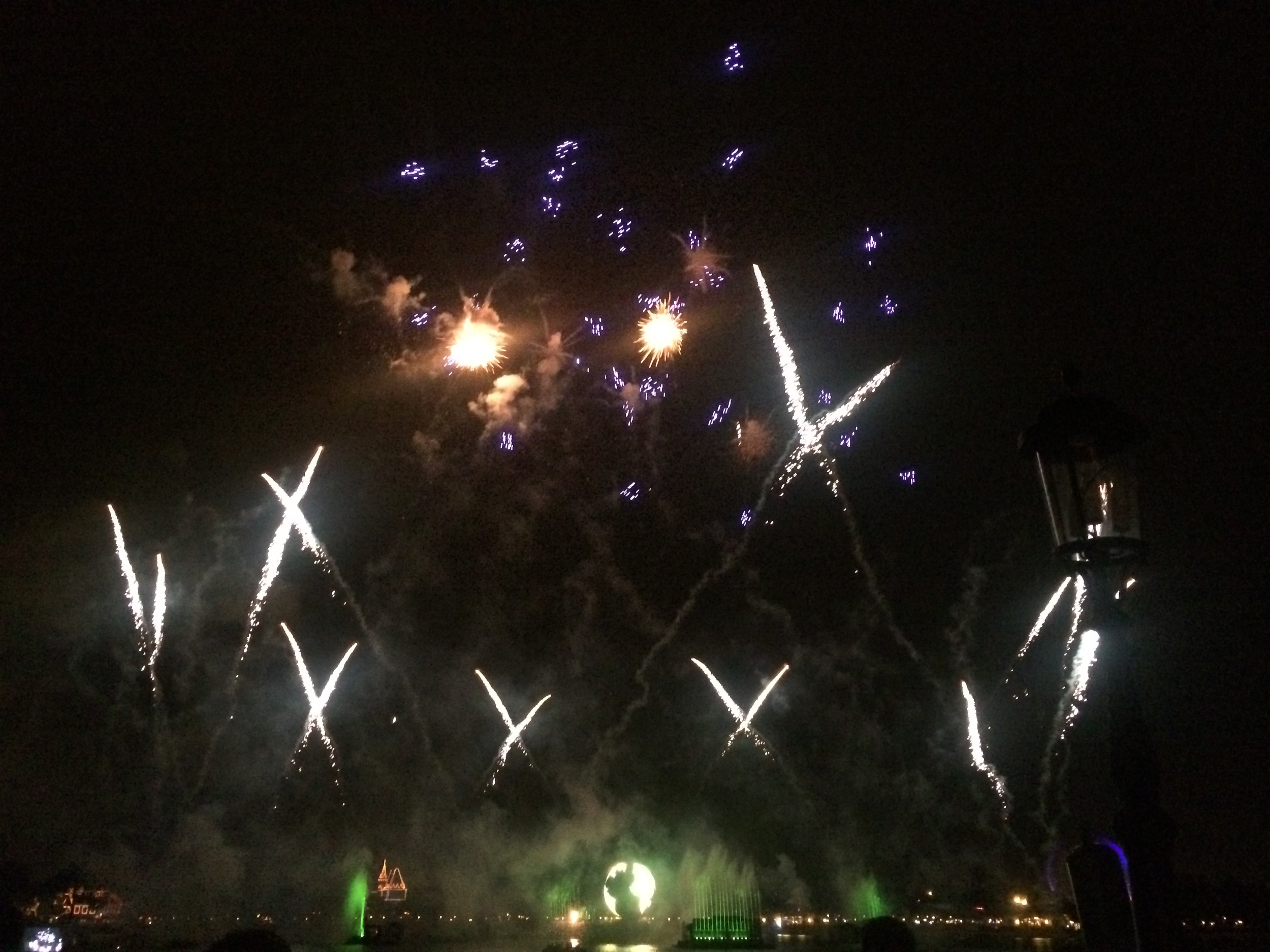 Fireworks Disney