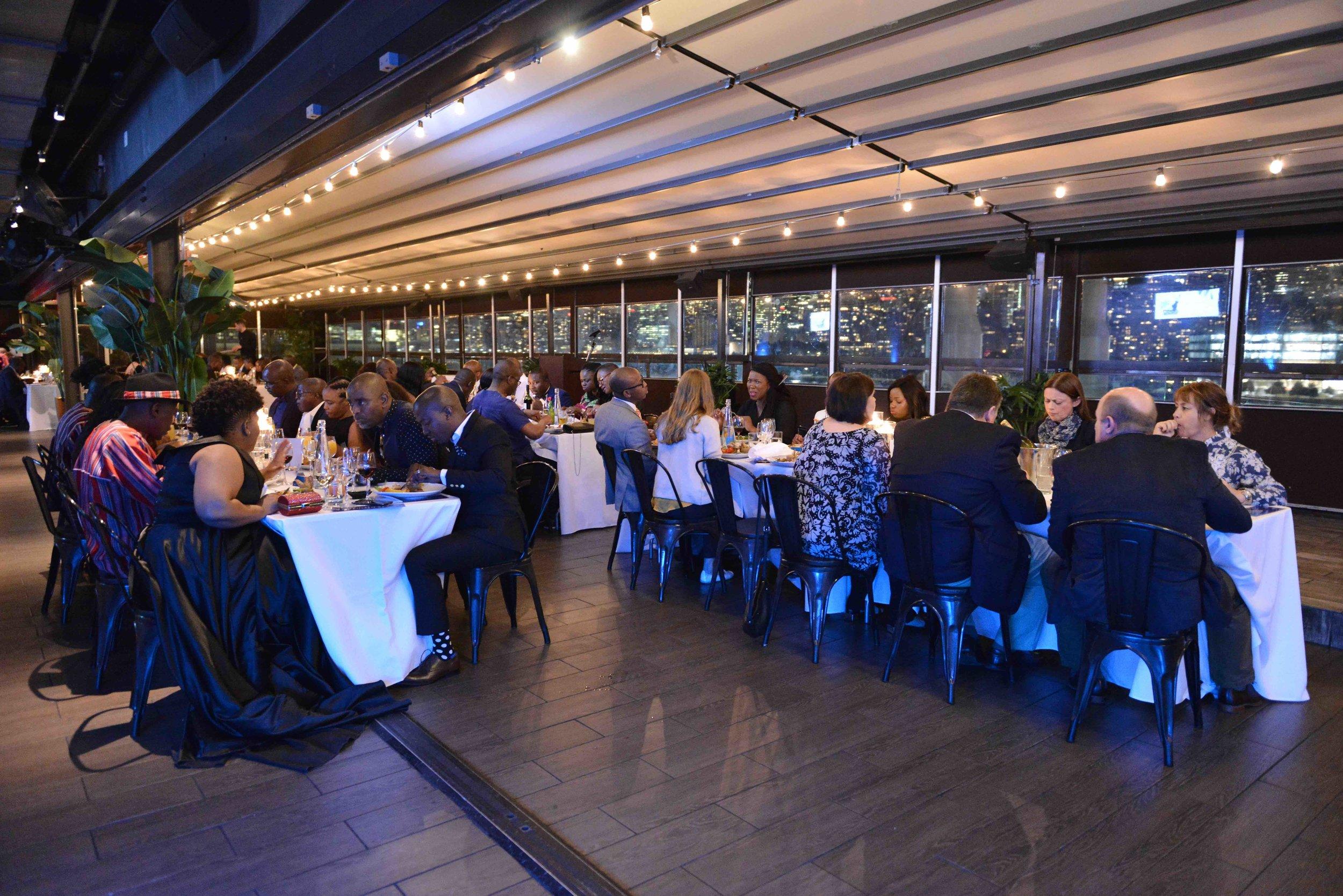 Award Dinner at  Penthouse 808