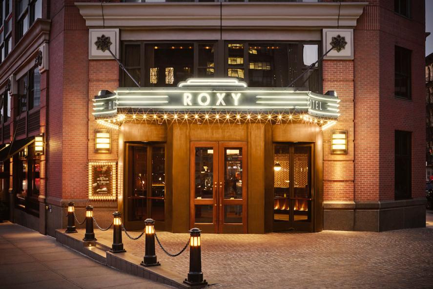 The Roxy Hotel Entrance