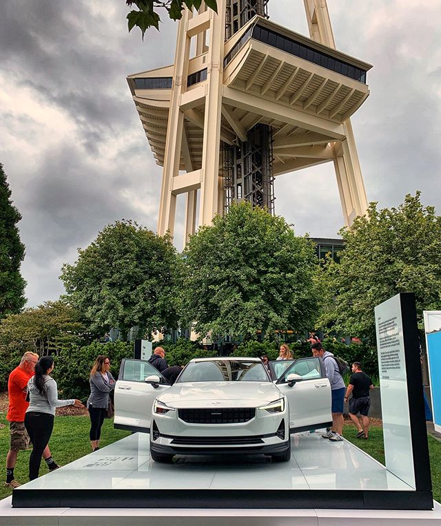 #Throwback to this weekend's grand reveal with @polestarcars at the #SeattleSpaceNeedle! #PolestarCars #PolestarOnTour