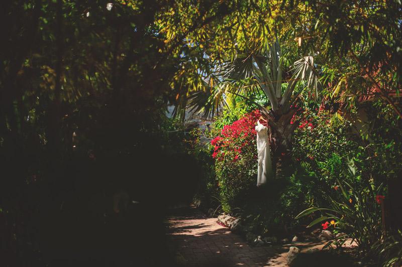 anna maria island wedding: dress