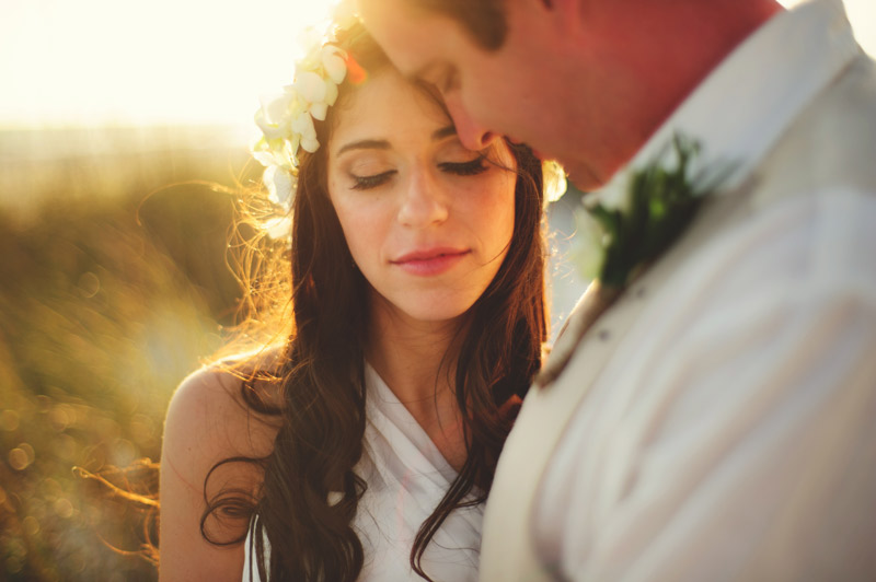 anna maria island wedding: bridal and groom portraits