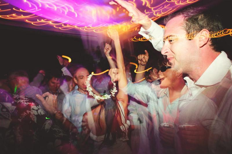 anna maria island wedding: fun dancing