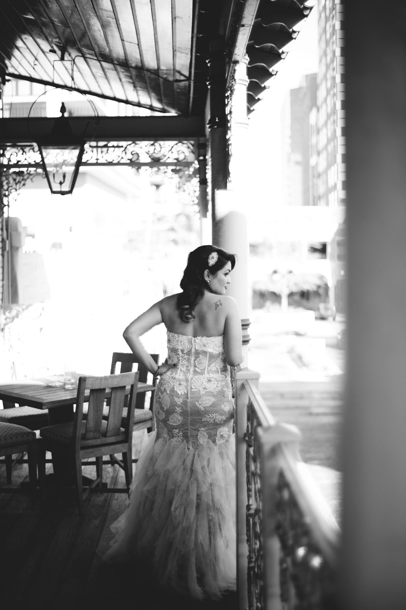 ceviche orlando wedding: bridal portraits