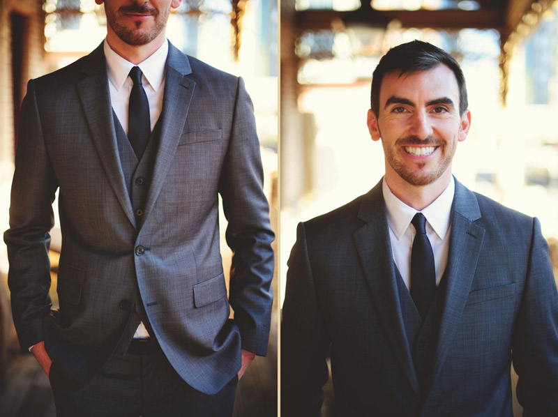 ceviche orlando wedding: one happy groom