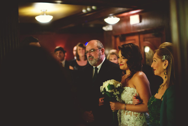 ceviche orlando wedding: mother father bride