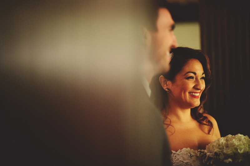 ceviche orlando wedding: saying vows