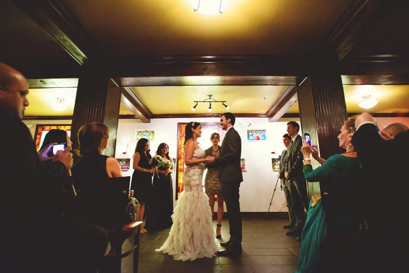ceviche orlando wedding: holding hands ceremony