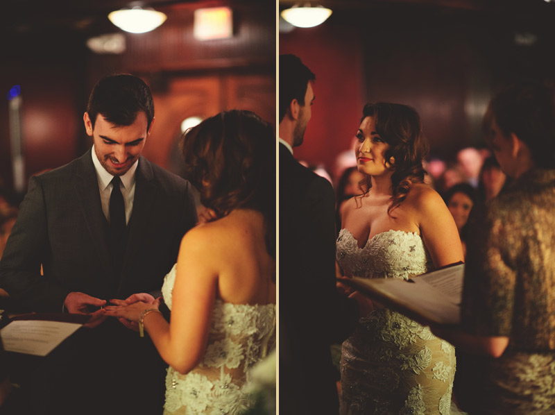ceviche orlando wedding: ring exchange