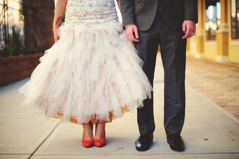 ceviche orlando wedding: bottom half shot
