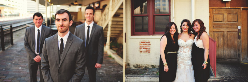 ceviche orlando wedding: groomsmen and bridesmaids