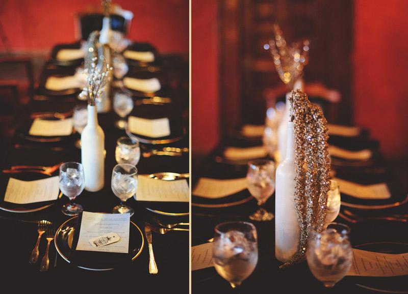 ceviche orlando wedding: center pieces