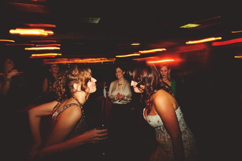 ceviche orlando wedding: bride dancing fun