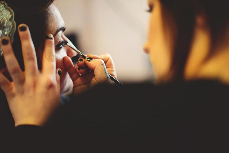 ceviche orlando wedding: eye liner