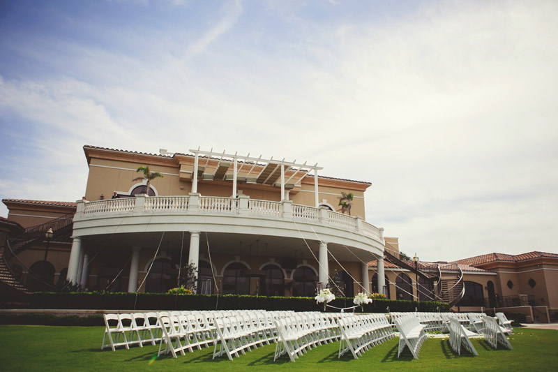 lakewood ranch wedding: ceremony site